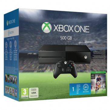 Consola Xbox One fara Kinect + joc FIFA 16 (cod download)