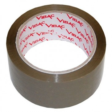 Banda adeziva, solvent, 48mm x 180m, maro, VIBAC