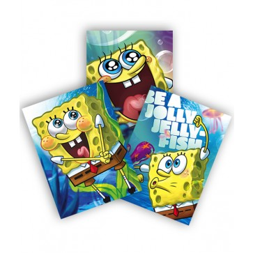 Coperta A5, color, PIGNA Sponge Bob