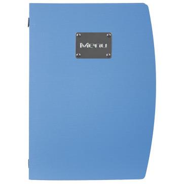 Coperta meniu, A4, albastru, SECURIT Rio Collection