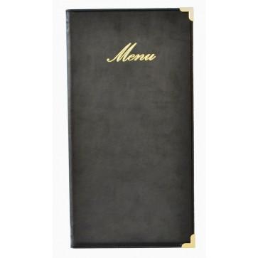 Coperta meniu, A4 inaltime/A5 latime, negru, SECURIT Classic