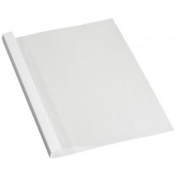 Coperti termice, A4, 6.0mm, spate alb, 100 buc/top, FELLOWES Prestige