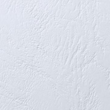 Coperti imitatie piele, alb, A4, 250 gmp, 100 bucatiset, GBC