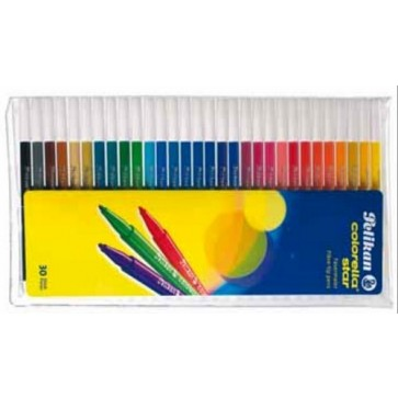Carioci, 30 culori/set, PELIKAN Colorella Star C302