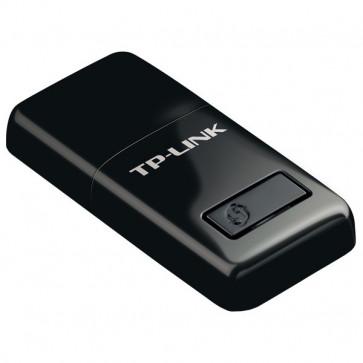 Adaptor USB Wireless TP-LINK N300 TL-WN823N, 300Mbps, negru