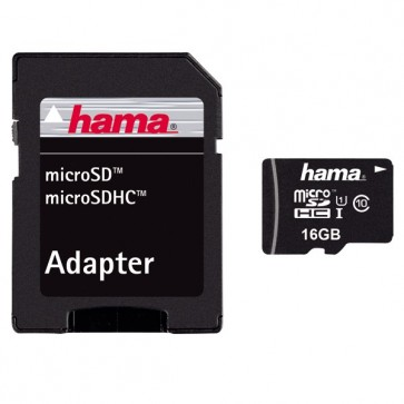 Card de memorie microSDHC 32GB Clasa 10 UHS-I 45MB/S + adaptor, HAMA