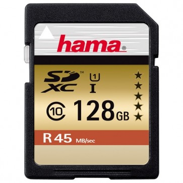 Card de memorie SDXC 128GB HAMA