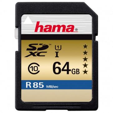 Card de memorie SDXC 64GB HAMA