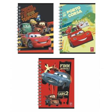 Caiet A5 matematica, cu spira, 80 file, PIGNA Premium - Cars