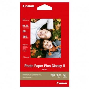 Hartie foto CANON Glossy II PP201S, 10 x 15cm, 50 coli
