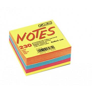 Cub din hartie color, 8 x 8cm, 80 g/mp, 230 file/set, HERLITZ