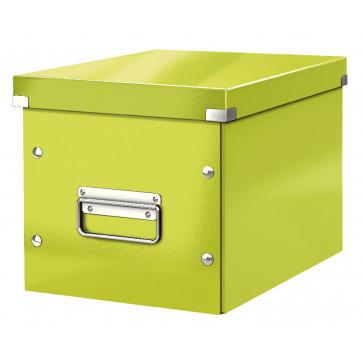 Cutie pentru depozitare, verde, Leitz Click & Store Cub Medie