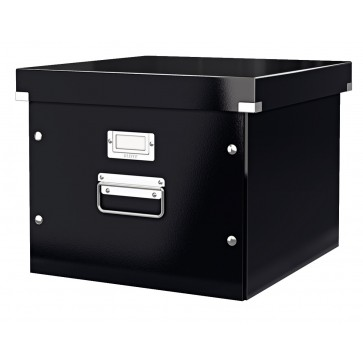Cutie pentru dosare suspendabile, negru, LEITZ Click & Store