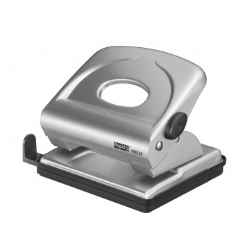 Perforator metalic pentru maxim 25 de coli, argintiu, RAPID FMC25