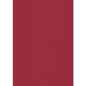 Coperti imitatie piele - rosu inchis, A4, 250 g/mp, 100 bucati/top, FELLOWES Delta