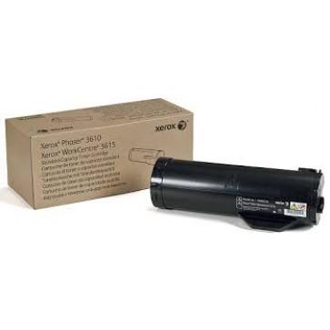 Toner, black, XEROX 106R02721