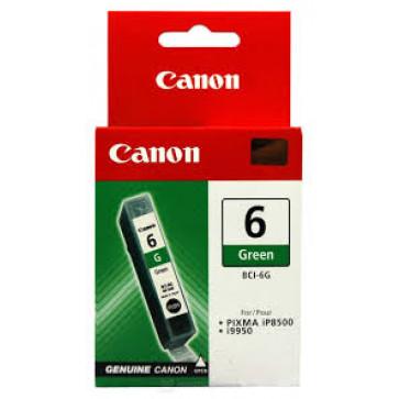 Cartus, green, CANON BCI6G