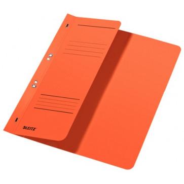 Dosar din carton, cu capse 1/2, 250 g/mp, portocaliu, LEITZ