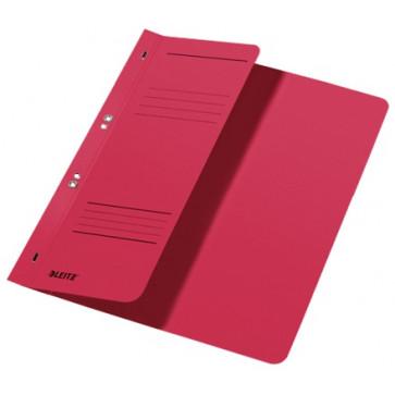 Dosar din carton, cu capse 1/2, 250 g/mp, rosu, LEITZ