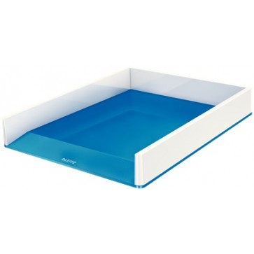 Tavita documente, culori duale, albastru metalizat, LEITZ WOW