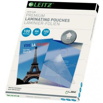 Folie laminare UDT, A4, 100 microni, 100 folii/cutie, LEITZ