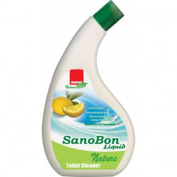 Detartrant pentru WC, 750ml, SANO Bon Liquid Nature
