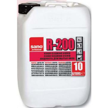 Detergent lichid pentru pardoseli, 10L, SANO Floor R-200