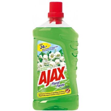Detergent lichid pentru pardoseli AJAX Spring Flowers, 1L