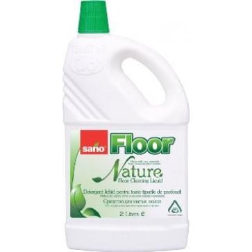 Detergent lichid pentru pardoseli, 2 L, SANO Floor Nature
