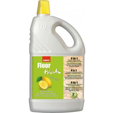 Detergent pardoseli, 2 L, SANO Floor Fresh Lemon