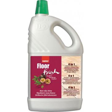 Detergent pardoseli, 2L, SANO Floor Fresh Passion Fruit