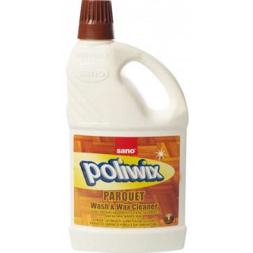 Detergent pardoseli cu ceara, 1L, SANO Poliwix Parquet
