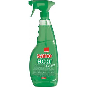 Detergent pentru geamuri, 1 L, SANO Clear Trigger Green