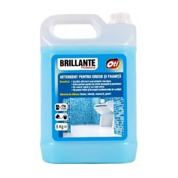 Detergent pentru gresie si faianta, 5 l., BRILLANTE