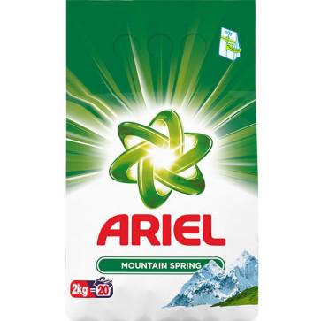 Detergent rufe, automat, 2kg, ARIEL Mountain Spring