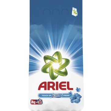 Detergent rufe, automat, 2kg, ARIEL Touch of Lenor Fresh