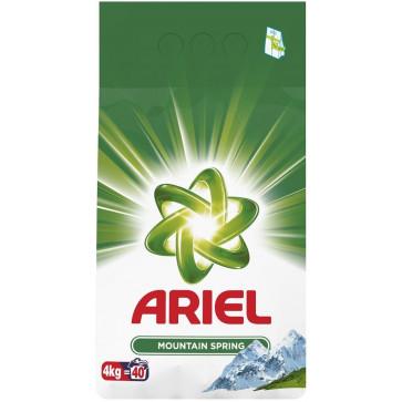 Detergent rufe, automat, 4kg, ARIEL Mountain Spring