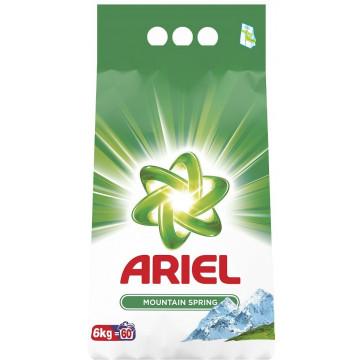 Detergent rufe, automat, 6kg, ARIEL Mountain Spring