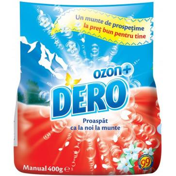 Detergent rufe, manual, 400g, DERO Ozon