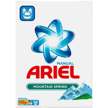 Detergent rufe, manual, 450g, ARIEL Mountain Spring