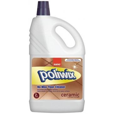 Detergent suprafete ceramice, 2L, SANO Poliwix Ceramic