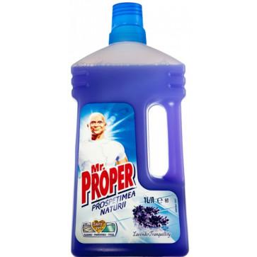 Detergent universal pentru pardoseli MR PROPER Lavanda, 1L