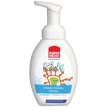Dezinfectant, gel, 100 ml, pentru copii, SANO Medic Hand Gel