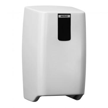 Dispenser hartie igienica, alb, KATRIN Line Classic System Toilet 800