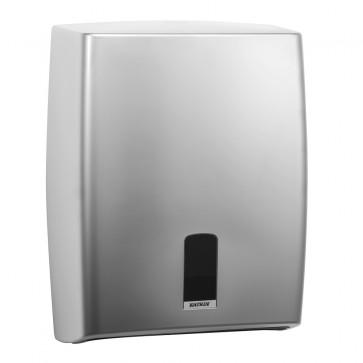 Dispenser prosoape pliate, silver, KATRIN ABS