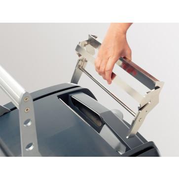 Dispozitiv pentru desfacerea documentului legat cu LEITZ impressBIND 280