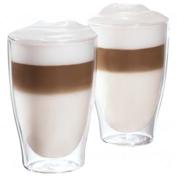 Set pahare latte macchiatto, sticla, TCHIBO