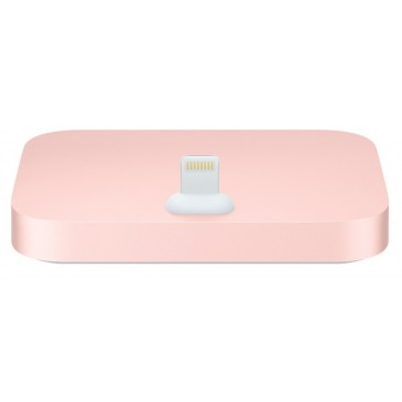 Dock APPLE mgrm2zm/a pentru iPhone 5, 5c, 5s, 6, 6 Plus, iPod touch (5 gen), Rose Gold