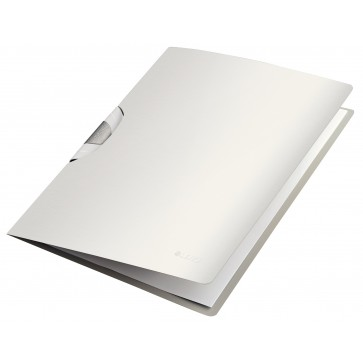Dosar cu clip, alb arctic, Leitz Style ColorClip Professional