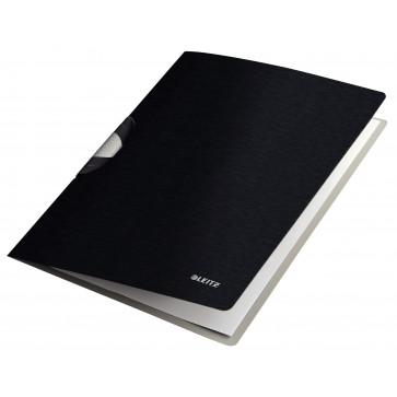 Dosar cu clip, negru satin, Leitz Style ColorClip Professional